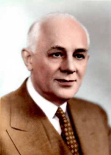 Former Director Dr. Clarence B. Dykstra
