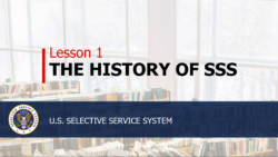 The history of SSS lesson 1