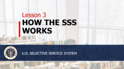 how the SSS works lesson plan 3